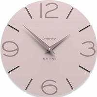CALLEADESIGN◆Shell Pink◆WANDUHR SMILE  スマイル掛け時計 (シェルピンク)◆トリエステ