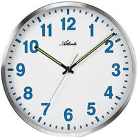 アトランタ◆Atlanta 4453/05◆シンプル壁掛け時計◆ブルー◆アトランタバイパラゴン