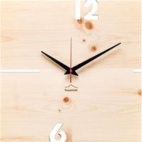 HUAMET◆CH41-A-00◆プールストーンパイン・木目の壁掛け時計◆南チロル