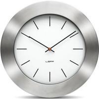 レフ・アムステルダム◆LEFF Amsterdam Bold55◆インスタントクラシック 掛け時計(シルバー)◆ウィーベ・テルストラ