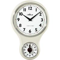 アトランタ◆Atlanta 6124/0◆キッチンクロック / タイマー付き壁掛け時計◆アトランタバイパラゴン
