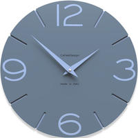 CALLEADESIGN◆Mid Blue◆WANDUHR SMILE  スマイル掛け時計 (ミッドブルー)◆トリエステ