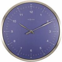 NEXTIME ◆NE-3243BL◆シンプルデザイン掛け時計◆サイレントクォーツ【正規輸入品】