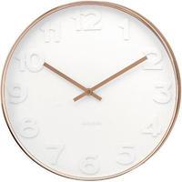 カールソン◆KARLSSON KA5587◆ミスターホワイト 掛け時計(51cm)◆Mr White Numbers Wall Clock