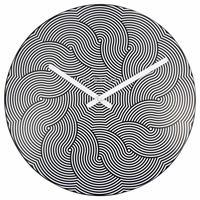 NEXTIME◆NEXT 3132◆ウェーブ・壁掛け時計◆Ø 40cm◆Wanduhr Waves