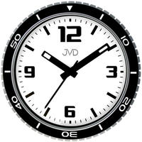 JVD◆HO296.1◆腕時計デザインクロック壁掛け時計◆直径29 cm◆チェコ共和国、東欧時計