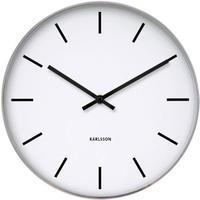 カールソン◆KARLSSON  KA4379◆ステーションクラシック掛け時計(ホワイト)◆Station Classic Wall Clock