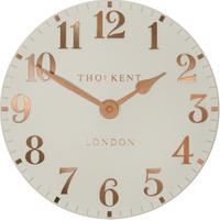 トーマスケント◆THOMAS KENT CAA2GTO12002◆アラビア数字 掛け時計◆Flint Grey