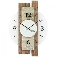 アームス ◆AMS 9543◆天然石、デザイン掛け時計◆ドイツ製クォーツムーブメント