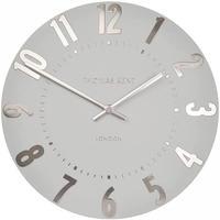トーマスケント◆THOMAS KENT  Cam2xto12314◆掛け時計◆アラビア時計ロシルバークラウド◆直径30㎝
