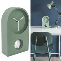 カールソン◆KARLSSON KA5801GR◆Taut Clock/タウト時計(グリーン)◆置き時計&掛け時計