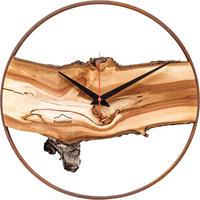HUAMET◆CH70-A-04◆リンゴの木/ヴュルツェル・木目の壁掛け時計◆南チロル
