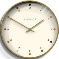 ニューゲート◆Newgate OSLO161RAB35◆オスロ掛け時計◆Oslo Wall Clock - Dot Dial