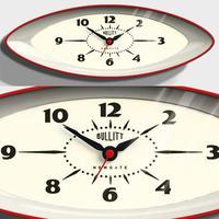 ニューゲート◆BBUL60R◆ブリットウォールクロック  掛け時計◆Bullitt Wall Clock
