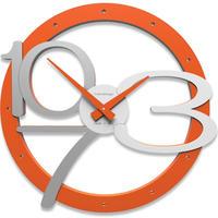 CALLEADESIGN◆OROLOGIO DA PARETE SCARLETT◆スカーレット掛け時計(オレンジ)◆トリエステ