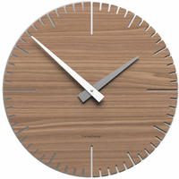 CALLEADESIGN◆WANDUHR Exacto◆Exacto 壁掛け時計 (クルミ)◆トリエステ