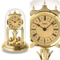 アームス ◆AMS 1203◆ドーム型 回転式振子置き時計◆ドイツ製クォーツムーブメント