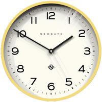 ニューゲート◆NUMTHR129CHY ◆ナンバースリーエコークロック  大型掛け時計 (イエロー37㎝)◆Number Three Echo Clock