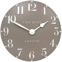 トーマスケント◆THOMAS KENT  SMXSQ◆掛け時計◆アラビア時計グレー◆直径30㎝