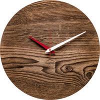 HUAMET◆CH60-H-03◆古木仕様ラウンド・木目の壁掛け時計◆南チロル