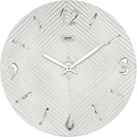 ローウェル◆Lowell 11473◆モダンデザイン壁掛け時計/白◆メイドインイタリー
