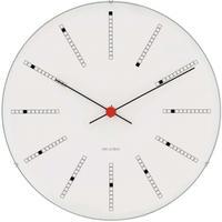 ローゼンダール◆アルネ・ヤコブセン◆43620◆BANKERS・ バンカーズ 掛け時計 (白、16㎝)◆Arne Jacobsen