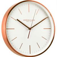 ロンドンクロック◆LONDON CLOCK 01102◆モダンウォールクロック(銅)◆クォーツムーブメント
