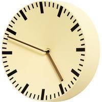 Hay◆Shane Schneck◆アナログ掛け時計 (ライトイエロー)◆シェーンシュネック、北欧
