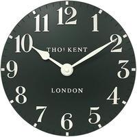 トーマスケント◆THOMAS KENT  AMC12030◆掛け時計◆アラビア時計グリーン◆直径30㎝