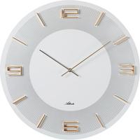アトランタ◆Atlanta  4470/0◆ラウンド壁掛け時計◆白50◆アトランタバイパラゴン