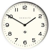 ニューゲート◆NUMONE149PW◆ナンバーワンエコークロック  大型掛け時計 (白、53㎝)◆Number One Echo Clock