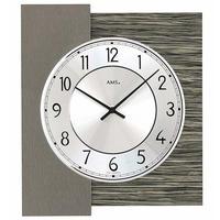 アームス ◆AMS 9584◆天然木とメタルの掛け時計◆ドイツ製クォーツムーブメント