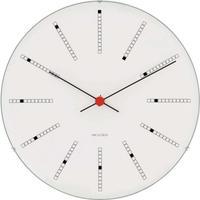 ローゼンダール◆アルネ・ヤコブセン◆43640◆BANKERS・ バンカーズ 掛け時計 (白、29㎝)◆Arne Jacobsen