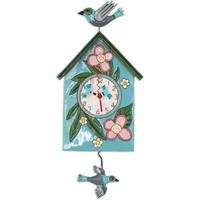 アレン デザイン スタジオ◆P1994◆祝福された巣箱と鳥/掛け時計◆ALLEN DESIGN  STUDIO