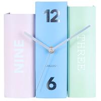 カールソン◆KARLSSON KA5630◆テーブルクロックブック置時計◆ミックス②◆Table Clock Book