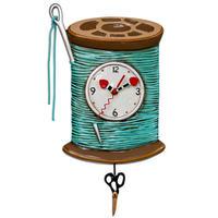 アレン デザイン スタジオ◆P1810◆針と糸掛け時計◆ALLEN DESIGN  STUDIO