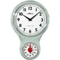 アトランタ◆Atlanta 6124/6◆キッチンクロック / タイマー付き壁掛け時計◆アトランタバイパラゴン