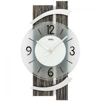 アームス ◆AMS 9547◆天然石とアルミのデザイン掛け時計◆ドイツ製クォーツムーブメント