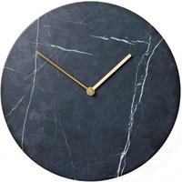 メニュー◆Menu◆Marble wall clock◆大理石の壁掛け時計、ブラック◆Norm Architects