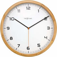 NEXTIME◆NEXT 3154 ◆シンプル  アナログ掛け時計◆Nextime Wanduhren modern