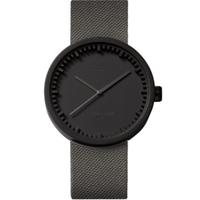 レフ アムステルダム◆LEFF amsterdam Tube D42◆腕時計◆ブラック、グレーのコーデュラス