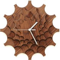 ARDEOLA◆ARD001.01.002◆歯車の壁時計・デザイン掛け時計 (クルミ)◆Cogwheel Wall Clock  のコピー