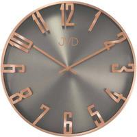 JVD◆HO171.2◆ローズゴールドの壁時計◆直径35cm◆チェコ共和国、東欧時計