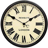 ニューゲート◆Newgate CLJ71K◆バターズビークロック 大型駅用掛け時計 (50㎝)◆Battersby Wall Clock