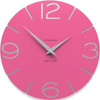 CALLEADESIGN◆Fuchsia◆WANDUHR SMILE  スマイル掛け時計 (フクシア)◆トリエステ
