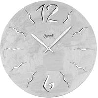 ローウェル◆Lowell 11463◆モダンデザイン壁掛け時計/グレー◆メイドインイタリー