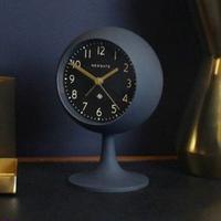 ニューゲート◆Newgate DOM411PEBL◆ドーム型 覚まし時計 (黒)◆Petrol Blue