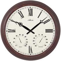 アトランタ◆Atlanta 4448◆温度計と湿度計付き・屋内外の壁掛け時計◆アトランタバイパラゴン