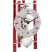 ヘルムレ◆Hermle 23025-360721◆機械式スケルトン振り子時計(赤)◆手巻きムーブメンント (8日巻き)