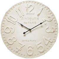ローウェル◆Lowell 21449◆モダンデザイン壁掛け時計/白◆メイドインイタリー